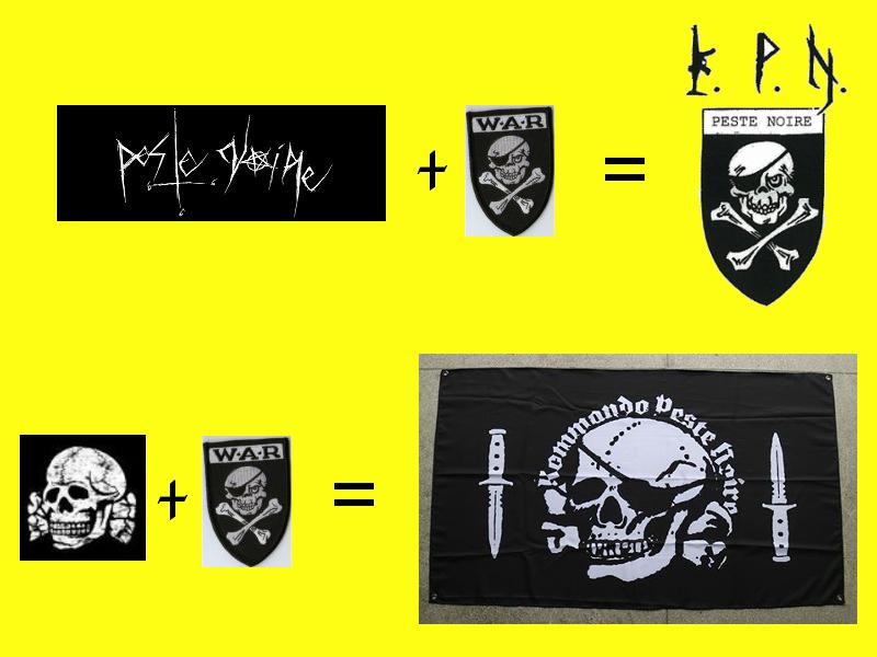 Le logo KPN / Peste Noire est identique à celui du